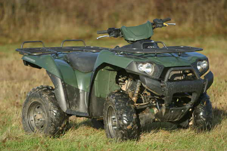 Suzuki King Quad Vs Kawasaki Brute Force